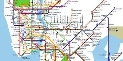 La Ciudad De Nueva York Nueva York Mapa Mapas De La Ciudad De Nueva York Nueva York Nueva York Estados Unidos